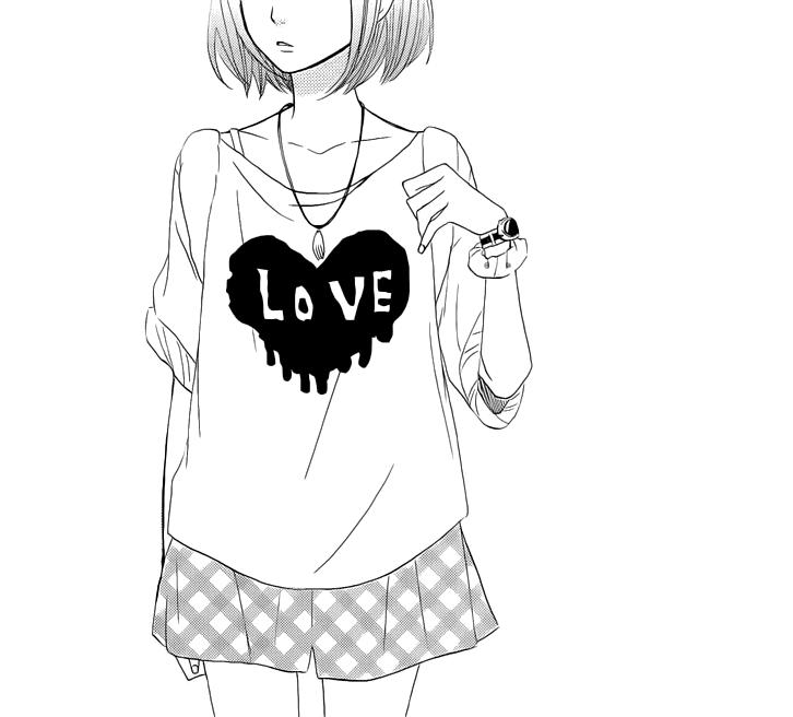 موسوعة صور أنمي منوعة $$$قليلة ونادرة  - صفحة 3 Anime-girl-black-and-white-girl-heart-Favim.com-1282988