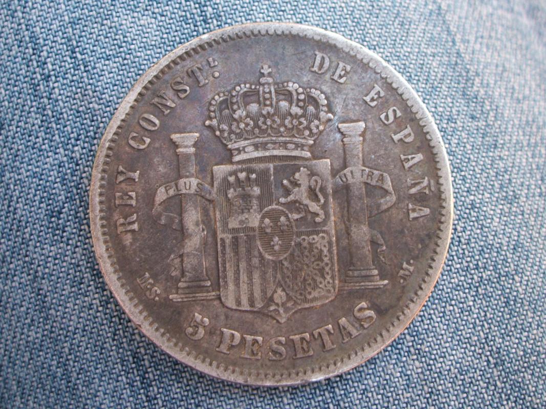 5 Pesetas 1881. MSM. Alfonso XII (1) 008