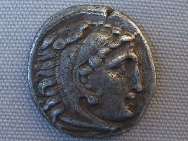 Dracma de Alejandro III de Macedonia (Colofon, 323-319 a.C.) 009