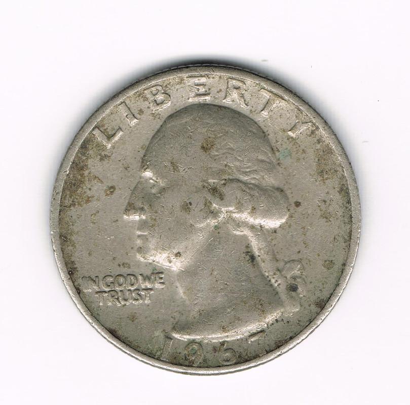 Cuarto de Dolar 1967 Cuarto_de_dolar