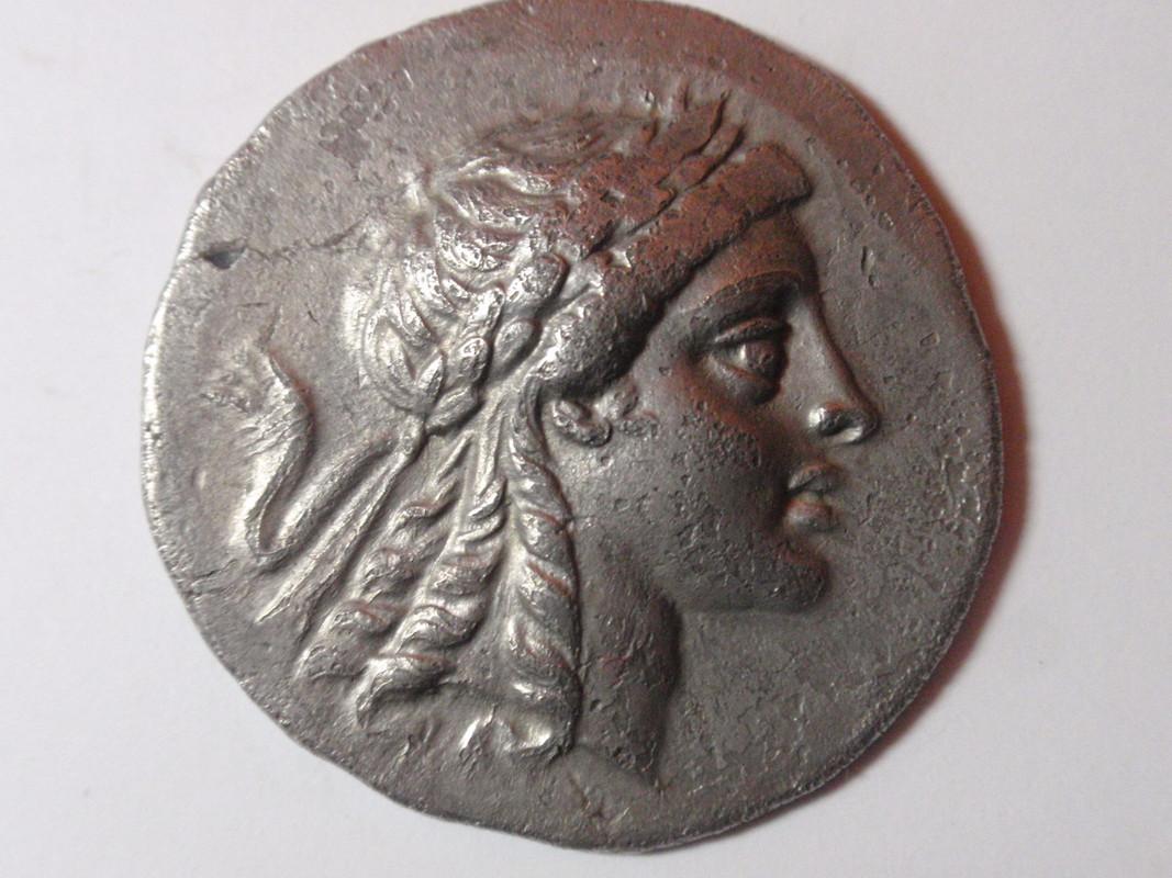 Tetradracma de Myrene, Aeolis. MYPINAIΩN. 155 - 145 a C. Aeolis_001