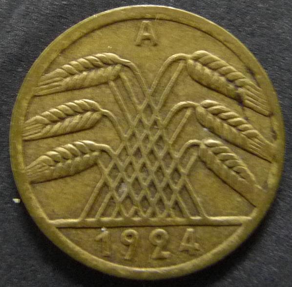 5 Rentenpfennig. Alemania. 1924. Berlín ALE_5_Rentenpfennig_rev