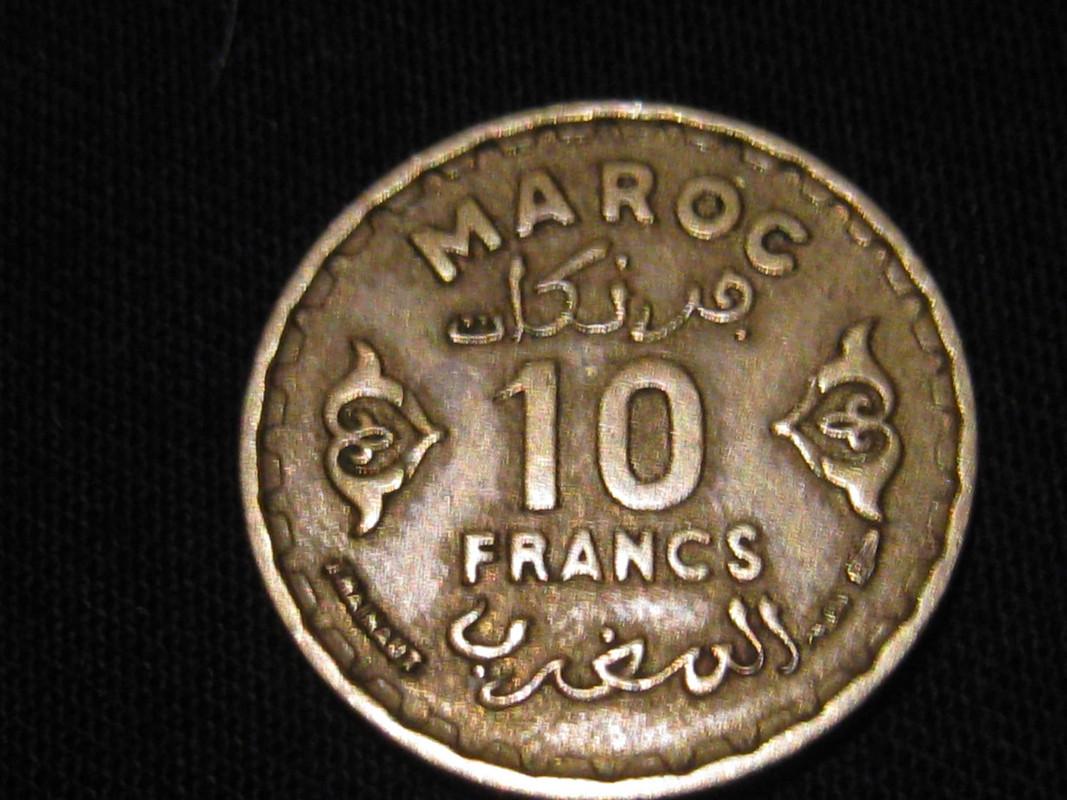 10 Francs. Marruecos. 1952 IMG_0737
