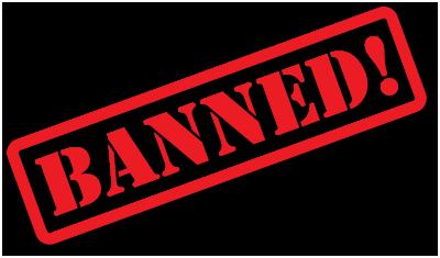 Pedido de Ban - IIINatsu, KiKiBADAZz e GNRL-ANTHONY-ADM Banned