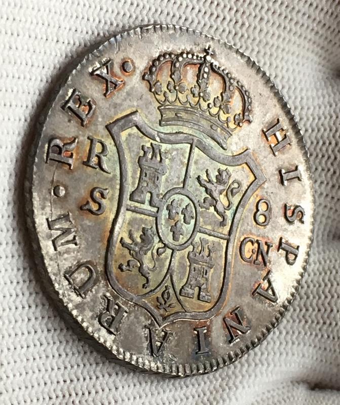 8 reales 1808. Fernando VII. Sevilla. C.N.  861_B4_FED-65_EC-459_E-9914-259_B721_FEA84