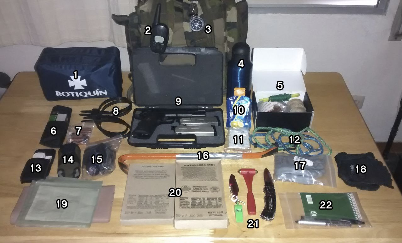 BUG-OUT BAGS (mochila supervivencia) 123