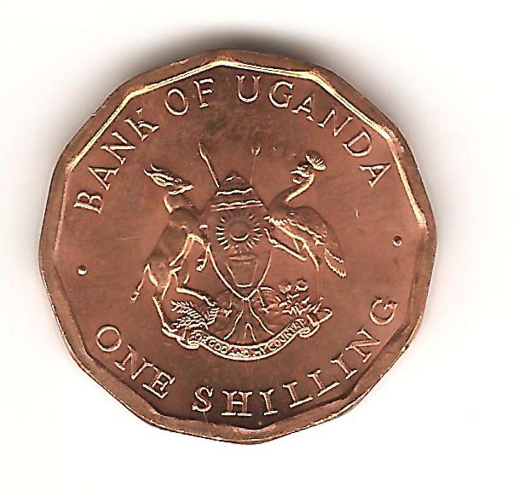 1 chelin de Uganda año 1987 Image