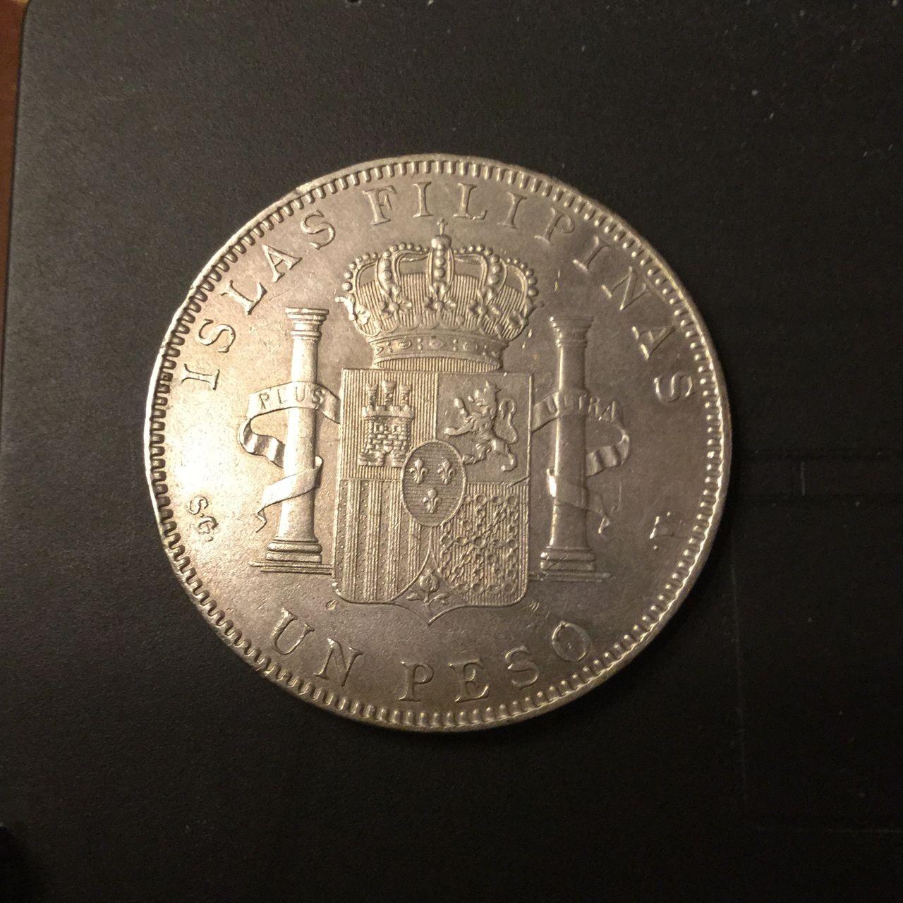 Alfonso XIII Pesos y Oro Image
