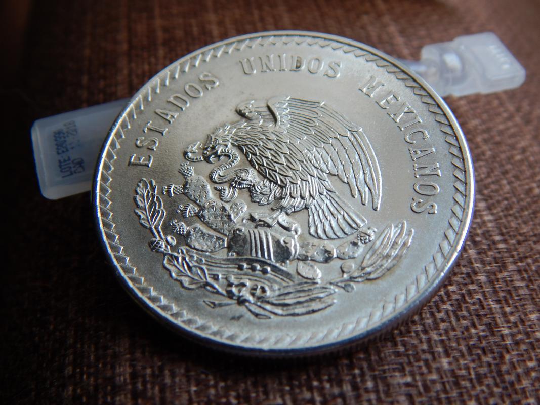 5 pesos Mexico 1948 DSCN2750