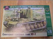 КВ-2 ранний от Арк Модел SDC10016