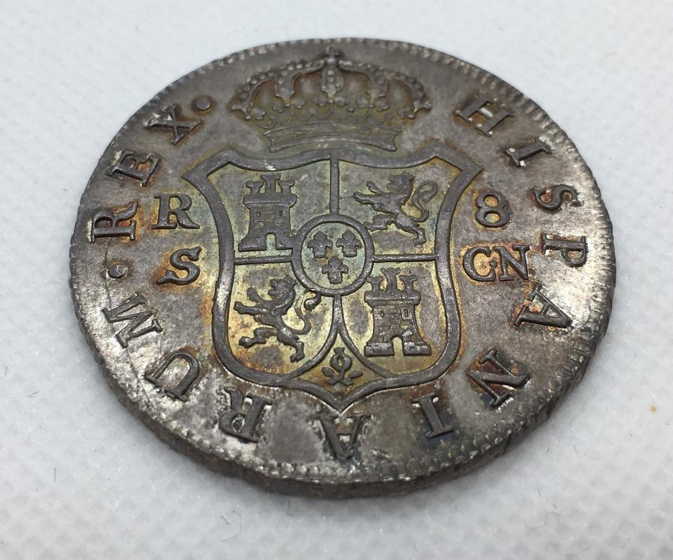 8 reales 1808. Fernando VII. Sevilla. C.N.  956_F0158-5512-4_F9_E-8_D5_A-_E757_D9_E1_BAAE