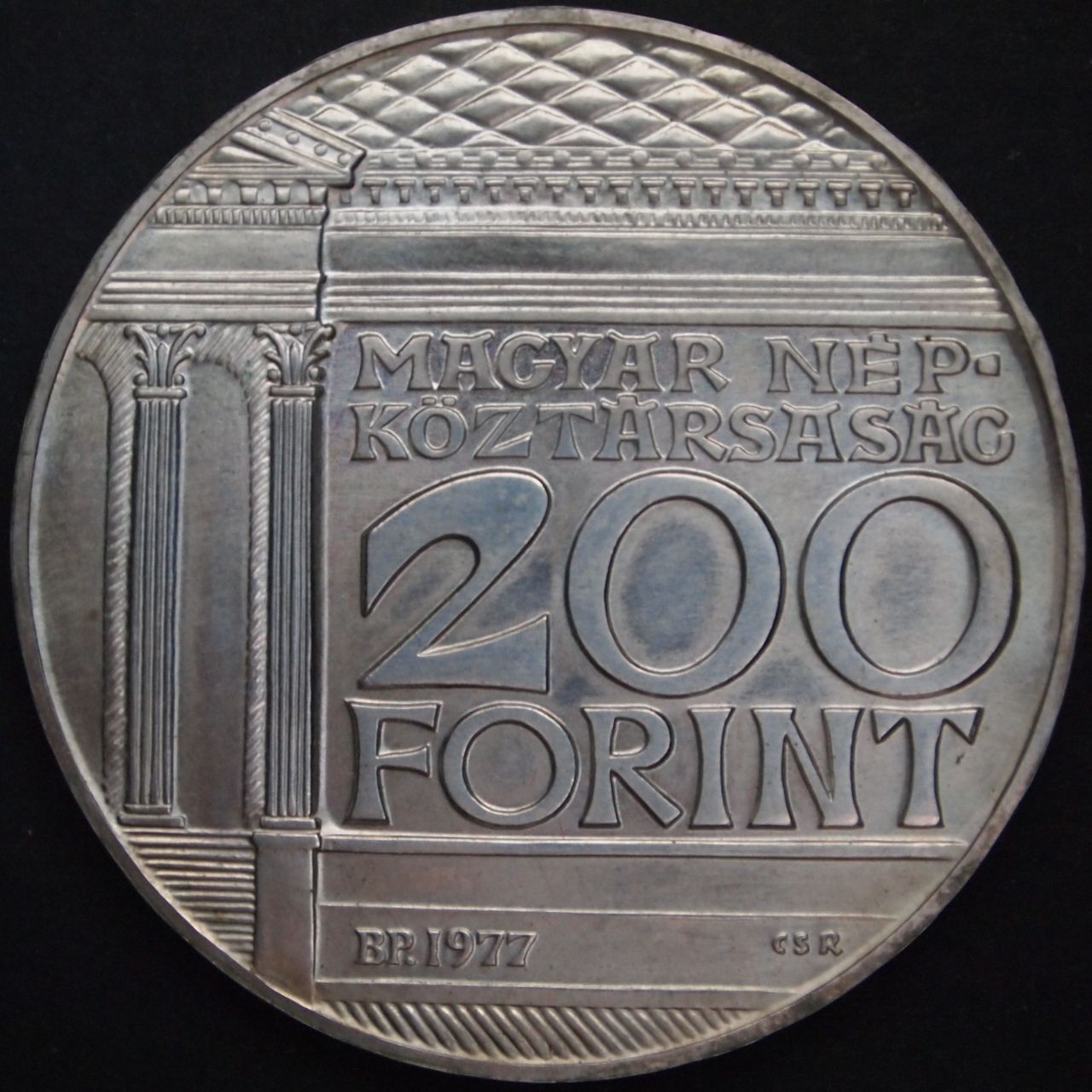 200 florines Hungria 1977 2