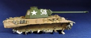 PzKpfw V Panther из роты Сотникова № 518. Звезда 1/35. ГОТОВО DSCN1685