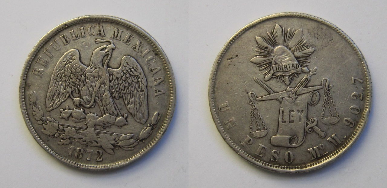 1 peso México 1872 1_peso_M_xico_1872