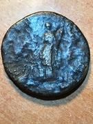 Sestercio de Adriano. HILARITAS P R - S C / COS III. Hilaritas estante a izq. Ceca Roma.  IMG_5065