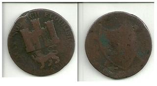 Jetón privado inglés . Norfolk and Norwich. 1792 Norfolk1