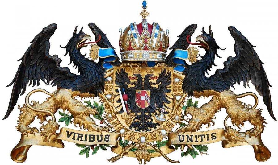 5 coronas Austria 1900. 11254-viribus-unitis