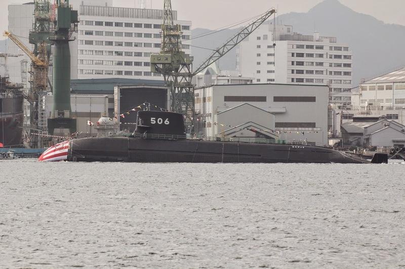Submarino Clase SORYU(DRAGON AZUL) - Tecnologia avanzada y clasificada (sin compartir sus adelantos) Kokuryu_soryu_class_ssk_ss_506