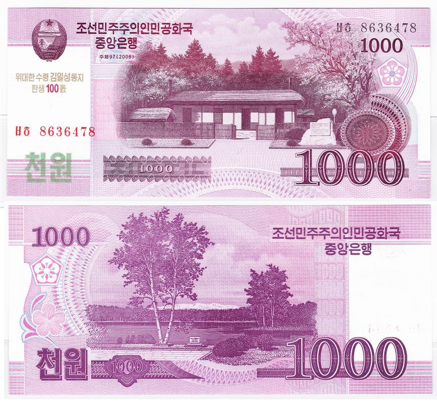 Korea_del_Norte_1000_won_2008