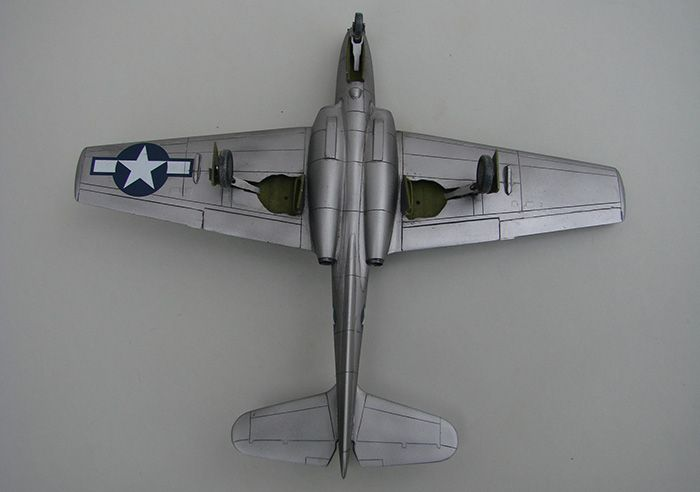 Bell P-59A Airacomet, Special Hobby ,1/72 DSC04405