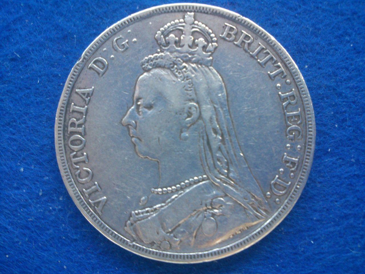 1 corona Reina Victoria 1890 Gran Bretaña 1_Corona_1890_R_Victoria