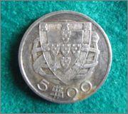 Republica . Portugal 1933 Moneda Buena_2_2