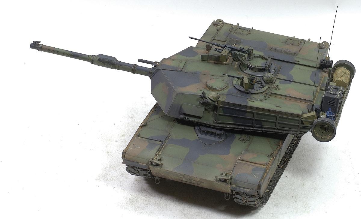 Abrams M1A1 Rye Field Model 1/35 Image