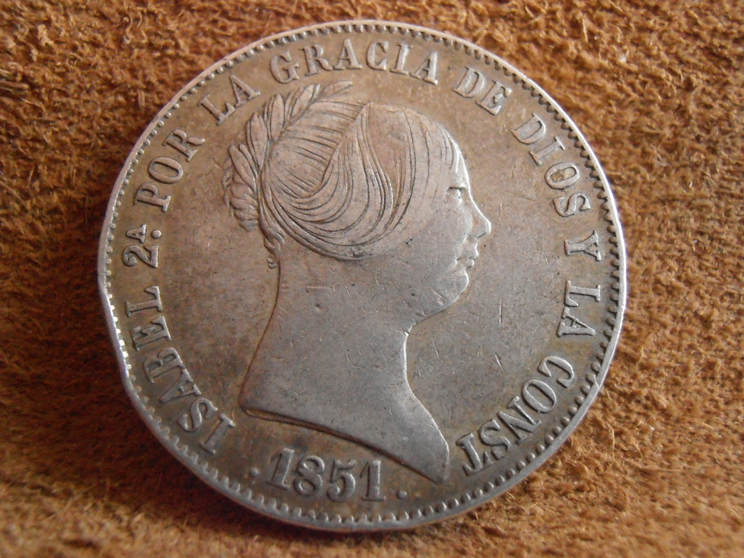 10 Reales 1851. Isabel II. Madrid  P4030011