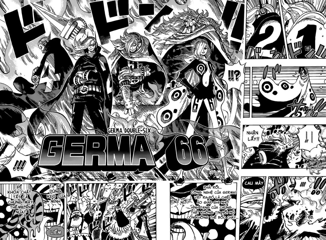 One Piece Chapter 869: Bị bao vây 08-091