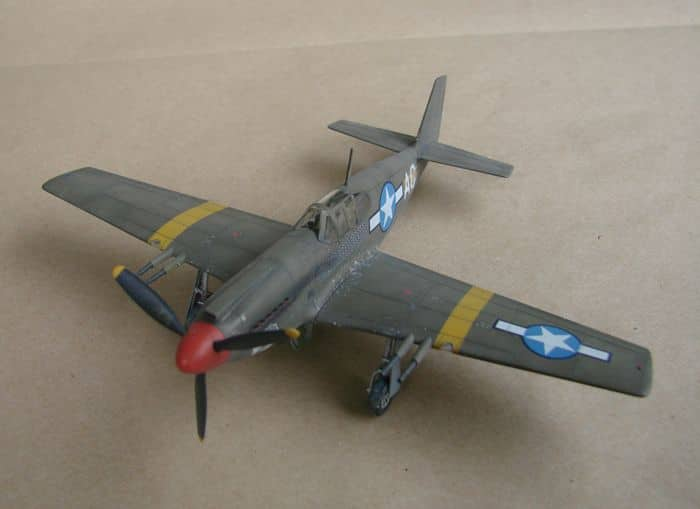 P-51 Mustang, Academy i P-51B Mustang (rebuild) Revell, 1/72 DSC02584