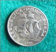Republica . Portugal 1933 Moneda Buena_2_1