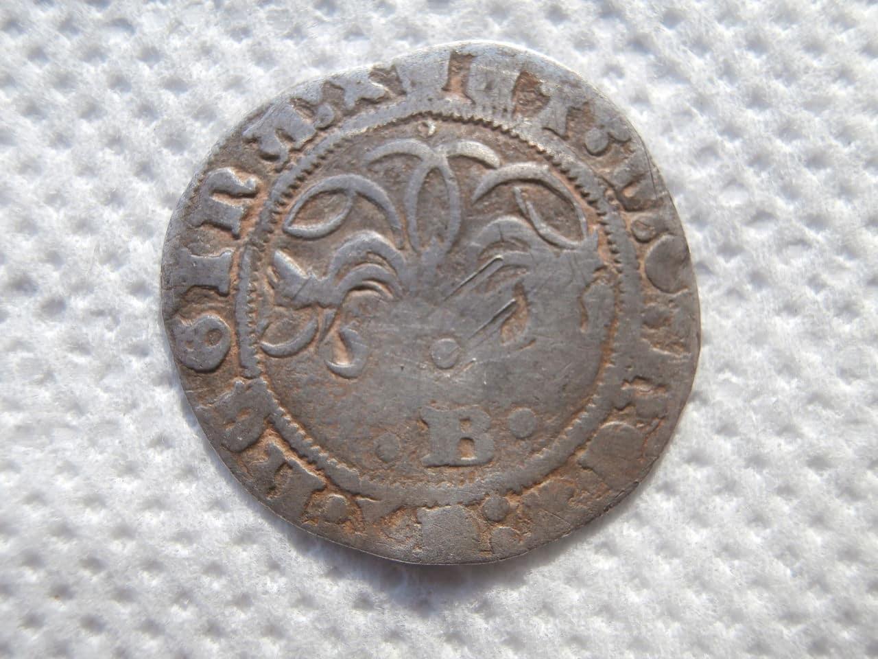 Medio real a nombre de los Reyes Católicos. Burgos P1070130