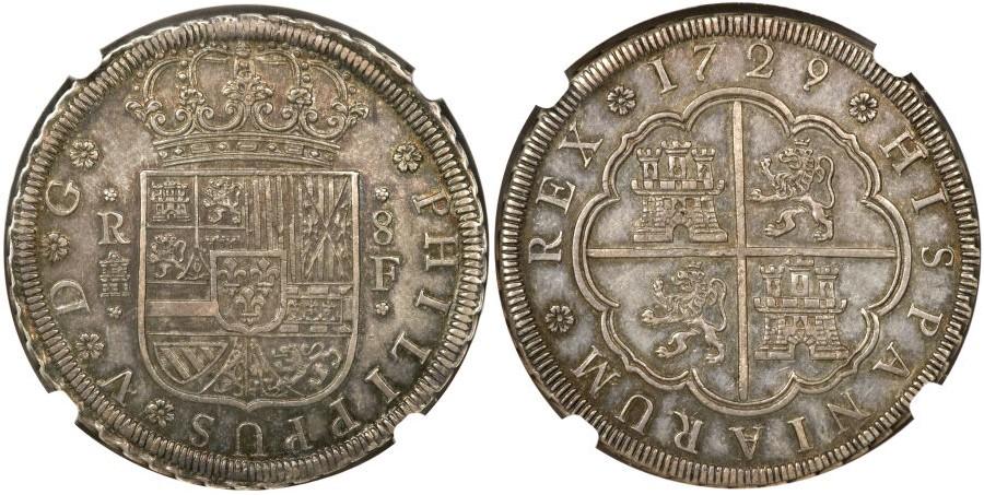 HERITAGE.Moneda Española 882639l