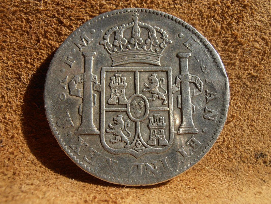 8 Reales 1790 Méjico Busto de Carlos IV P4100002