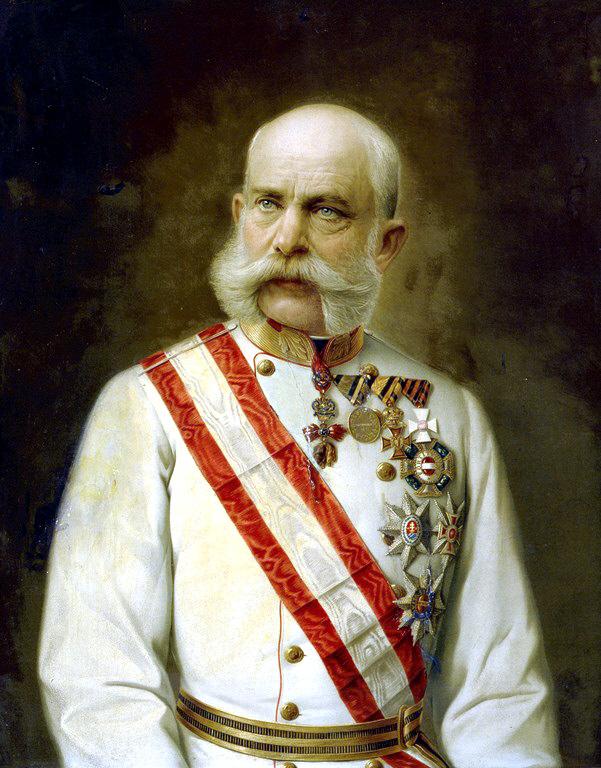 5 coronas Austria 1900. Franz_Joseph_of_Austria_1910_old