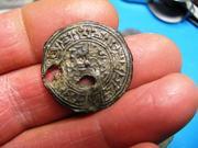 Amuleto en plomo 39b