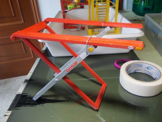 Diorama: Taller mecánico clásico, escala 1/10 DSCN6309