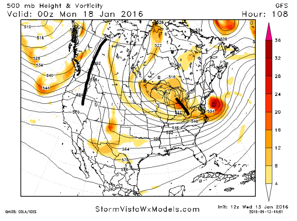 State of the Union: Winter Edition & MLK Day Possible Storm Capture