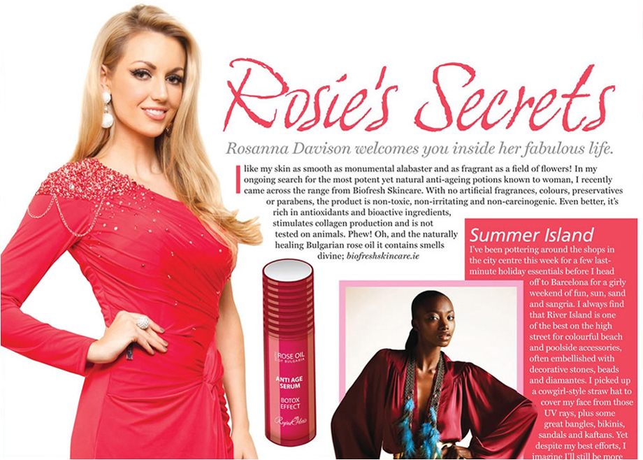 rosanna davison, miss world 2003. - Página 3 Former-_Miss-_World-_Rosanna-_Davison-recommends-_Biofresh-_Skincare_4