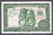 Los billetes españoles con mayor poder liberatorio  1000ptas1957_SSmbcc