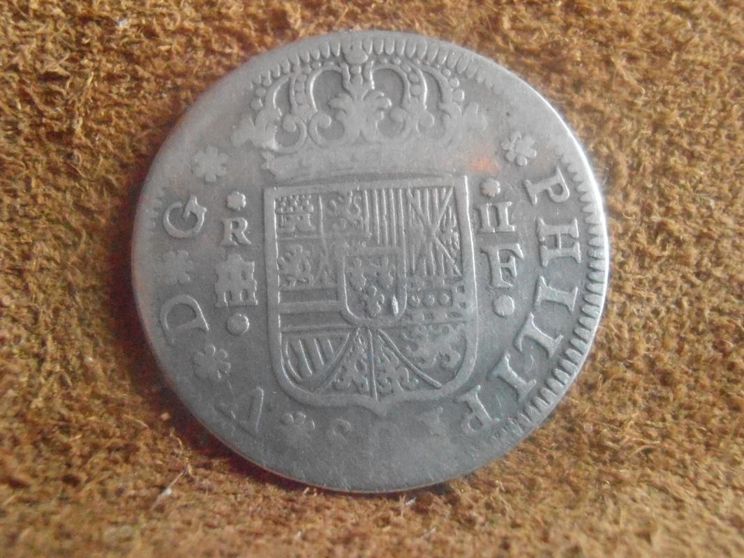 2 reales 1723/22. Felipe V. Segovia P9018614