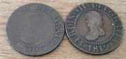 Variantes 12 diners 1812 Fernando VII ISLAS BALEARES Image