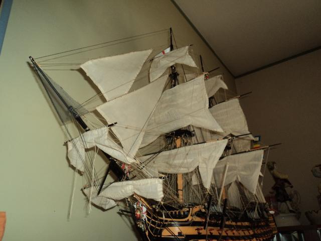 amerigo - Il mio primo cantiere navale, Amerigo Vespucci, scala 1/100 DeA - Pagina 17 DSC06159
