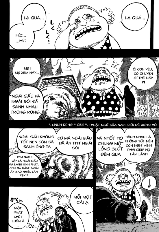 One Piece Chapter 866: Kẻ hủy diệt bẩm sinh Image