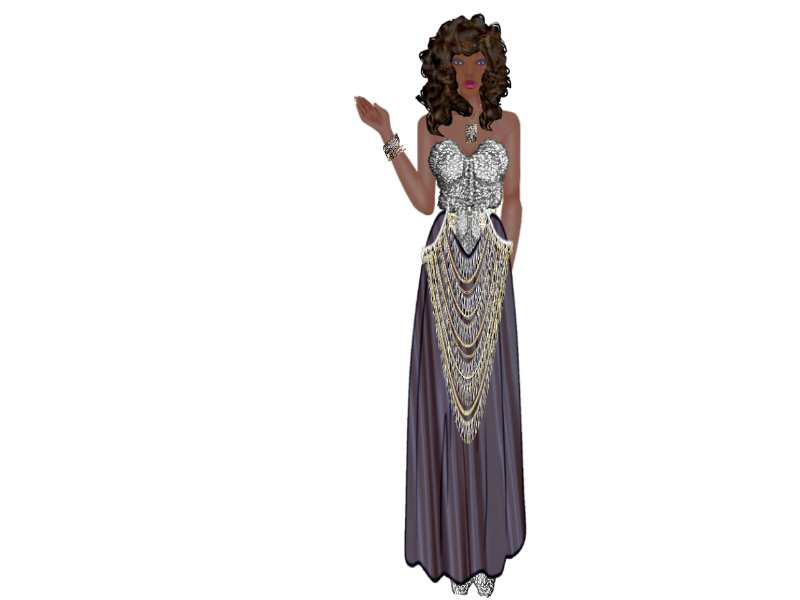 Leandra's Weekly Design Challenge: #7 Silver & Gold Kelbe_silver_gown_2