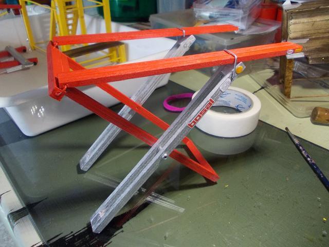 Diorama: Taller mecánico clásico, escala 1/10 DSCN6308