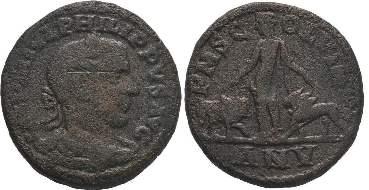AE29 de Filipo I. Vinimacium Filipo_i_an_v