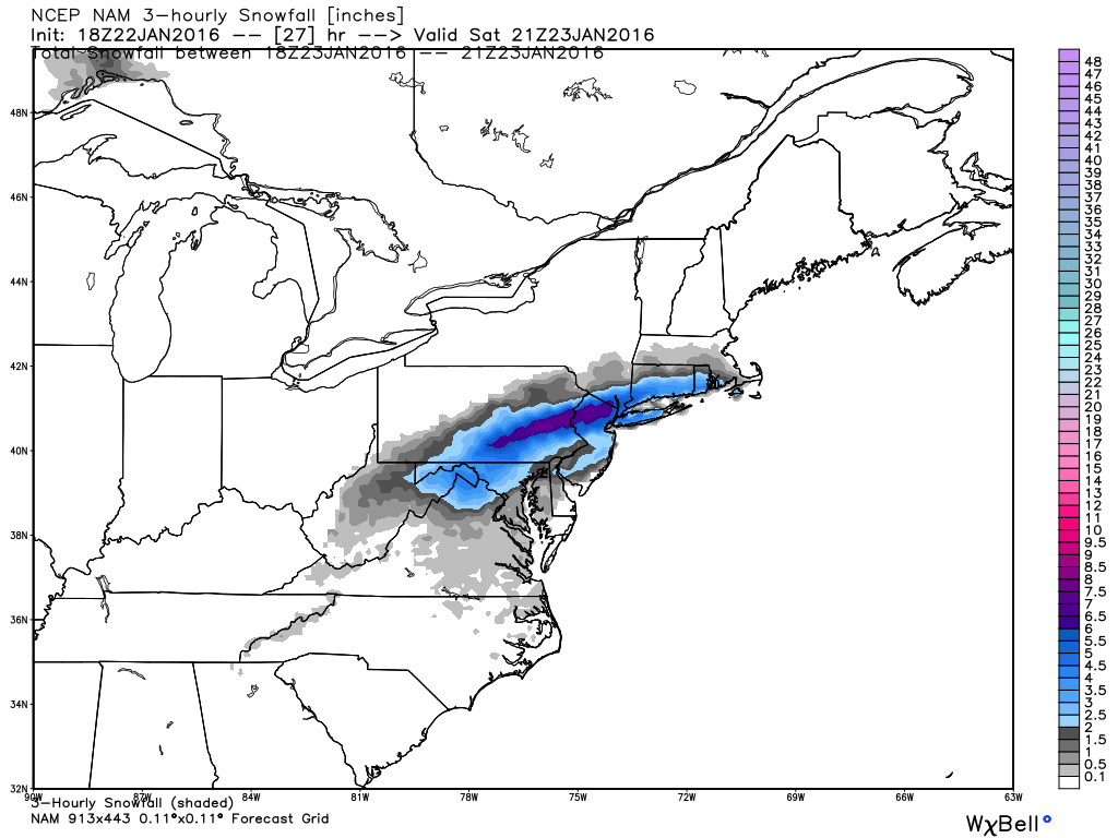 01/23/16 Storm Update #6 - Final Call - Page 2 Nam_3hr_snow_ma_10