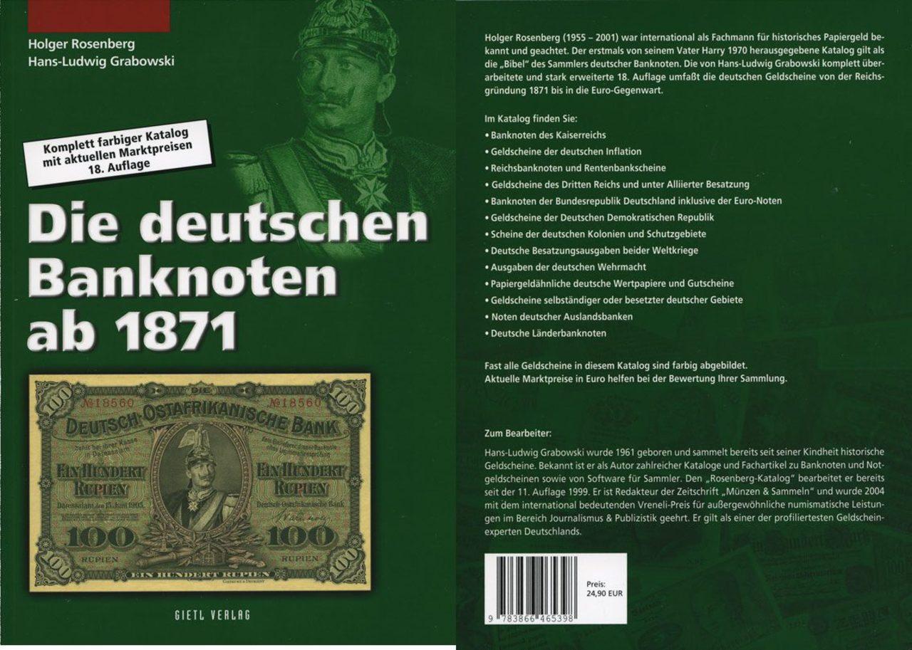 Catalogo billetes Alemania Image
