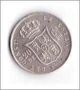 20 céntimos Alfonso XII 1885 1885_20_centimos_R